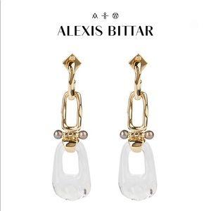 Alexis Bittar Link Hinged Post Earring
